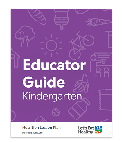 Our nutrition curriculum is designed by teachers and nutritionists.