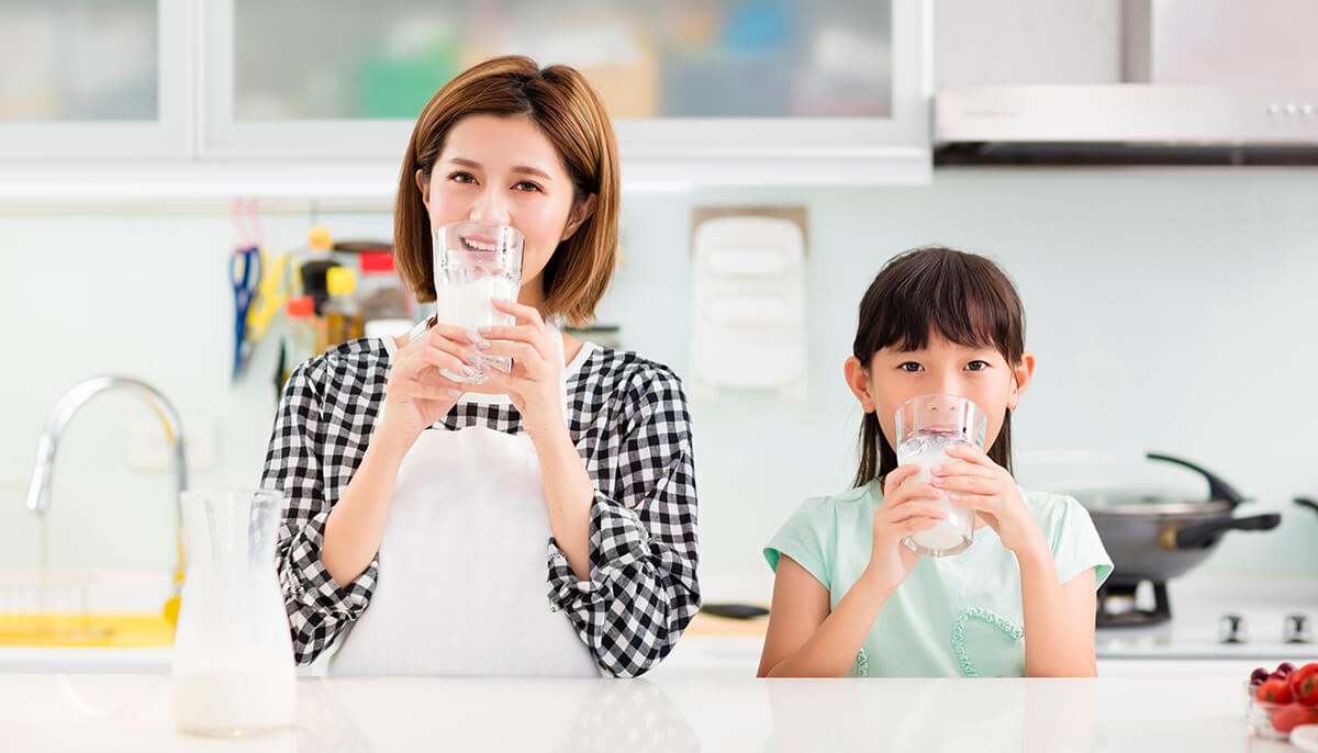Read more on how milk contributes to human health.