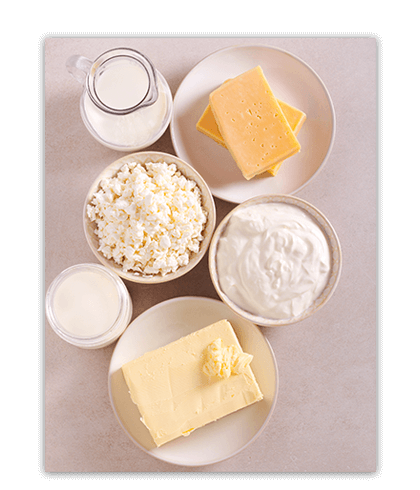 Explore the science behind dairy and how it supports optimal health.