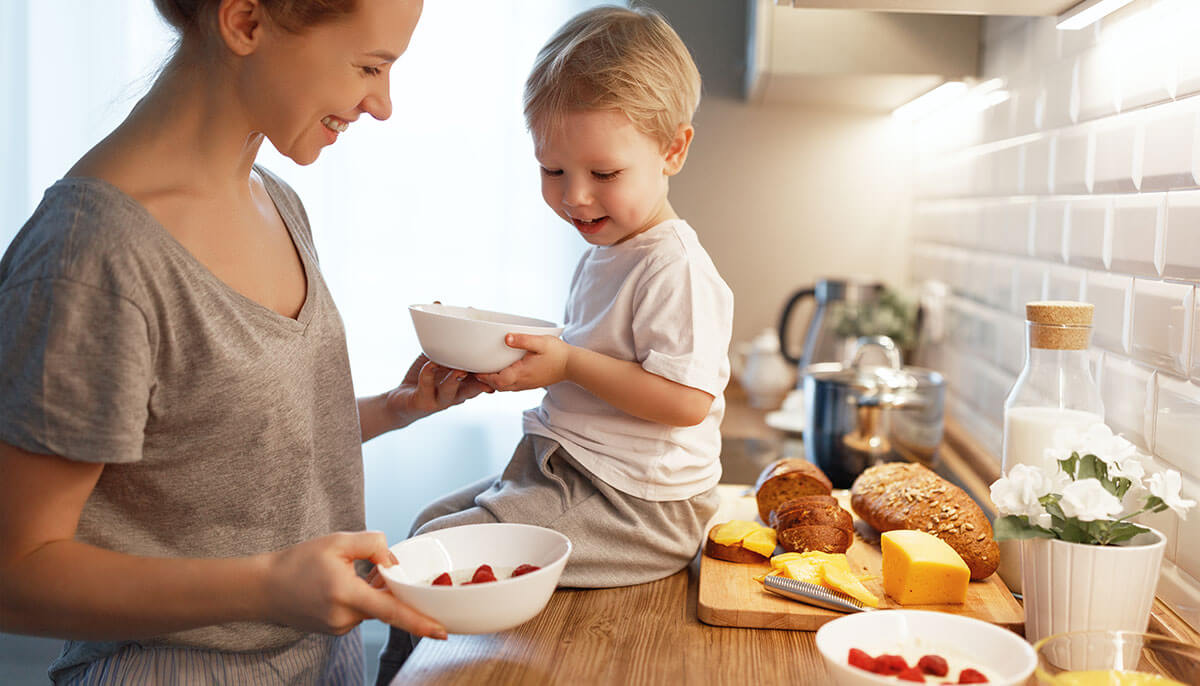 Eating breakfast at home or school fuels students for learning.