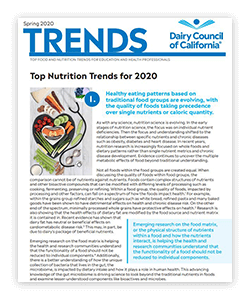 Read more on the top 10 nutrition trends for 2020.
