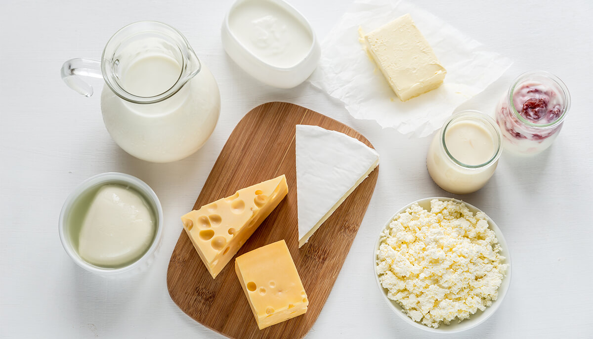 Foods in the dairy food group offer a unique package of nutrients.