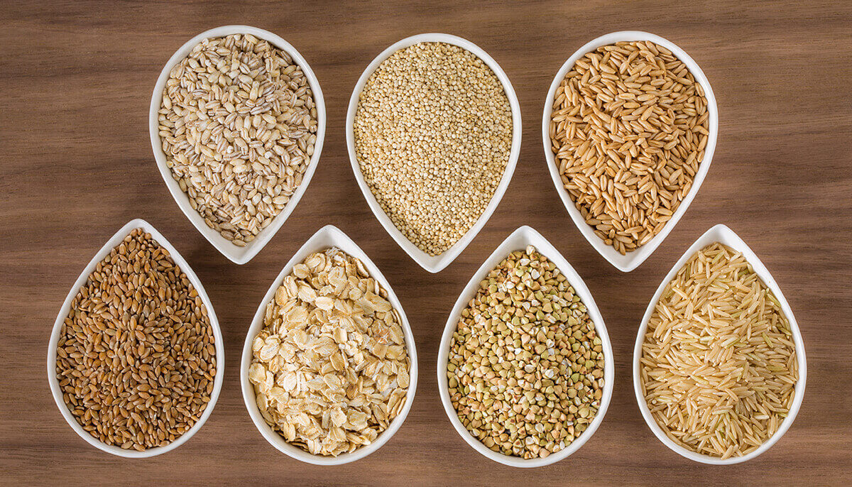 Foods in the grain food group offer a unique package of nutrients.