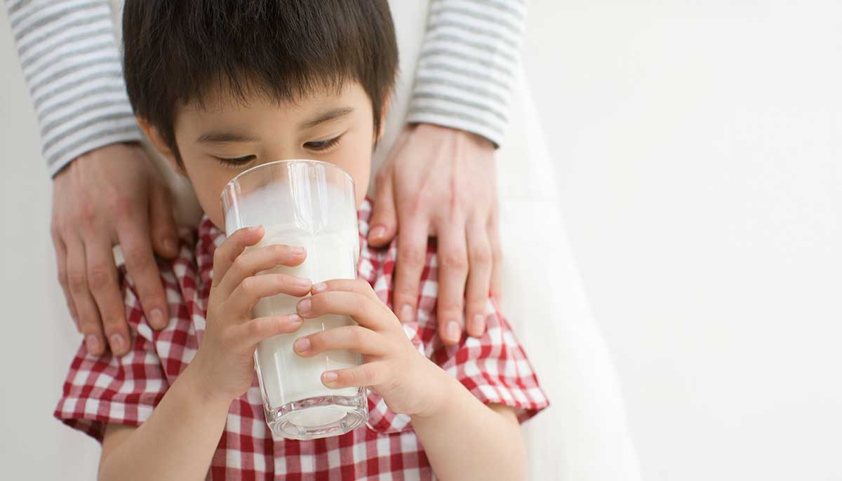 Milk + dairy foods supply important nutrients during critical growth periods.