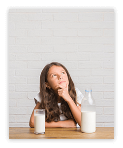 Explore commonly believed myths about milk as backed by science.