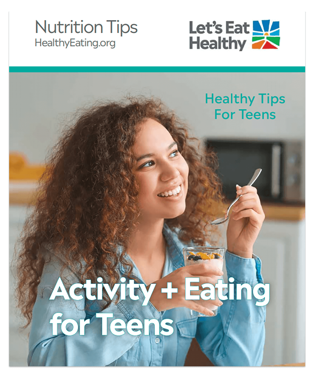 Equip teens with nutrition knowledge they need to make healthier choices.