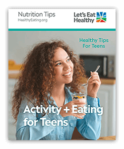 Equip teens with nutrition knowledge they need to make healthier choices