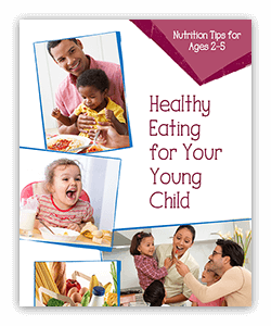Teaching healthy habits can begin at a young age and last throughout life.