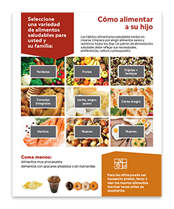 Order the Healthy Eating for Your Family booklet today!