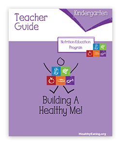 Our student workbooks are designed to teach the importance of nutrition.