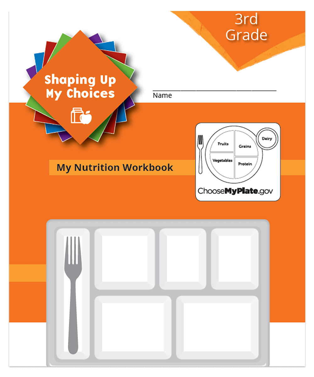 Our 3rd grade curriculum teaches kids what healthy eating looks like.