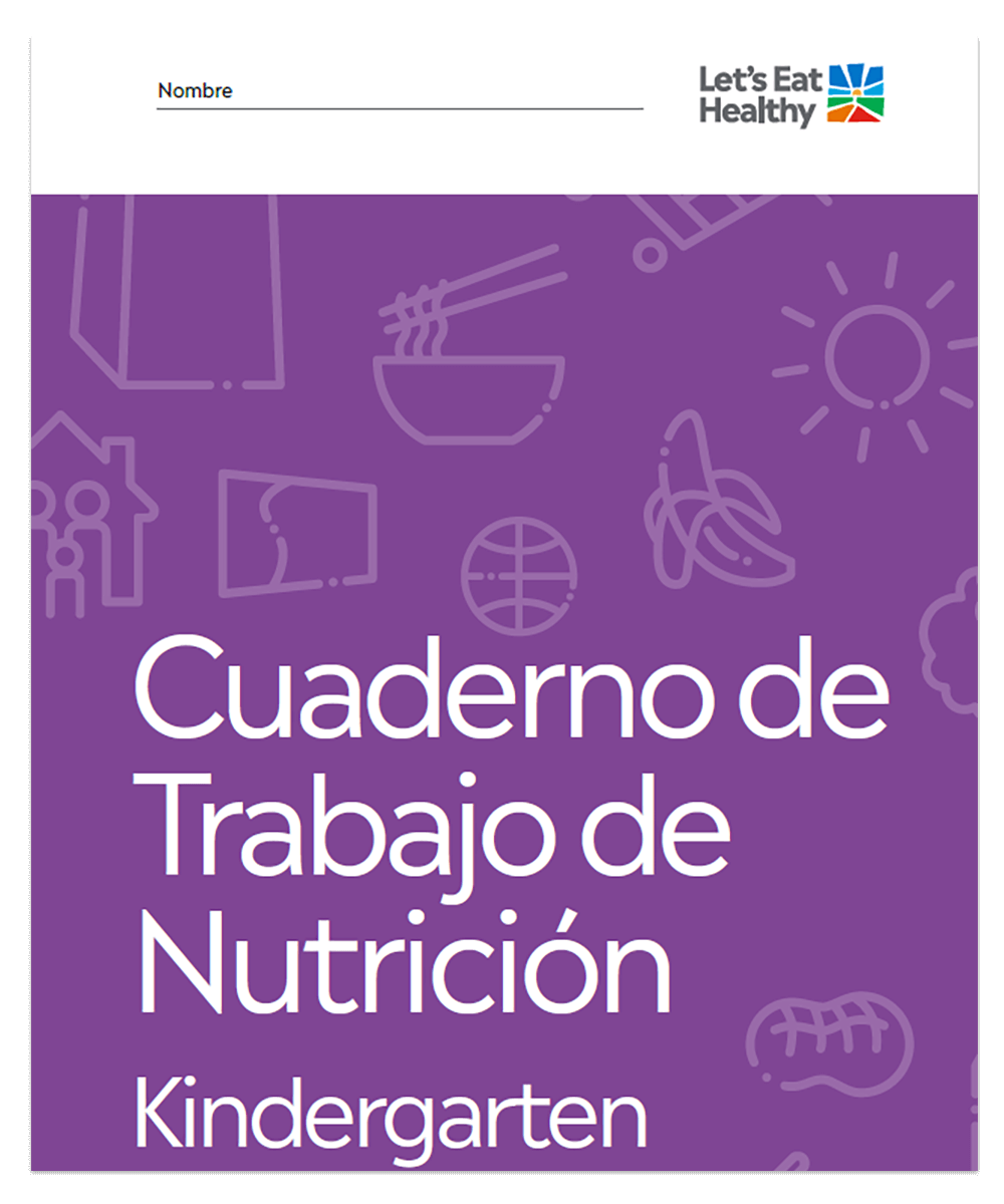 Our Kindergarten grade curriculum teaches kids what healthy eating looks like.