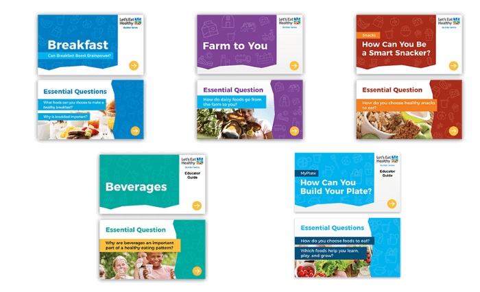 Explore, Explain and Empower with Nutrition Builders.
