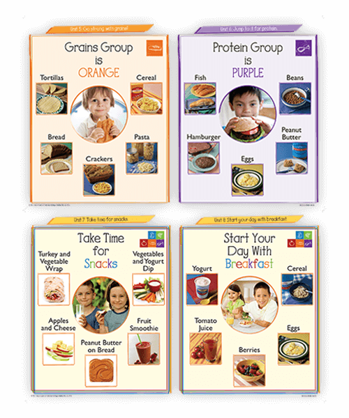 Understanding the five food groups supports a healthy eating pattern.