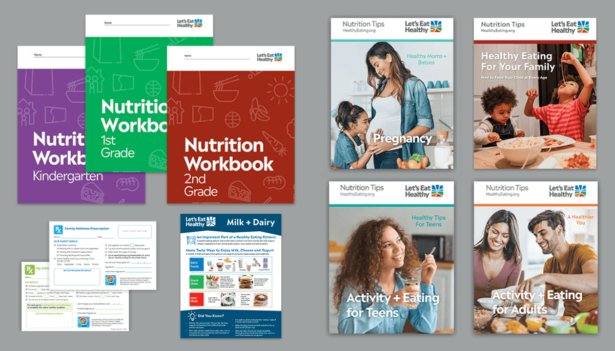 Find Nutrition Ed Resources for Educators + Health Providers here.