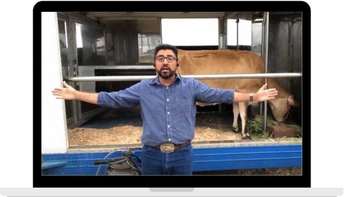 Take your students on a virtual field trip + visit a California dairy farm!
