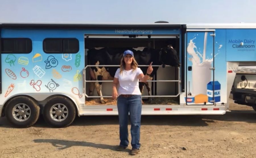 Bring the Mobile Dairy Classroom to your school.