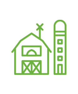 Icon of a farm environment accompanying the Nutrition Primer.