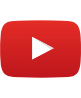 Image of YouTube social media icon.